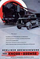 Knorr Bremse Transmasch Leipzig Reklame 1951 Berliner Bremsenwerk Werbung