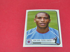 319 PIERRE-FANFAN RANGERS  UEFA PANINI FOOTBALL CHAMPIONS LEAGUE 2005/2006