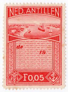 (I.B) Netherlands Antilles Revenue : Duty Stamp 5c