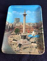 Vintage Nelson's Column Trinket Tray Dish Trafalgar Square England Norway House