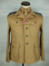 WWII German Elite Afrikakorps Combat Tunic Jacket