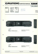 Grundig Service Anleitung Manual V 11 12  B451