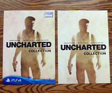 Uncharted The Nathan Drake Collection Promotional Booklet w/ Poster Promo Insert