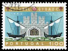 Scott # 873 - 1961 - ' Setubal Sea Gate and Ships '