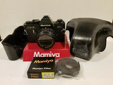 Mamiya Ze-2 Camera Body + 50mm Lens with 2 filters, original protective case