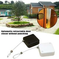 Punch-free Automatic Sensor Door Closer Portable Home Office Doors Off 2020 Chic