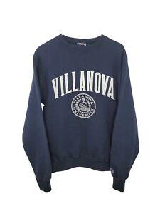 Champion Villanova University Fleece Crewneck Sweatshirt Mens Medium Pullover