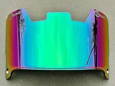Phoenix Sports Gear Football Helmet Visor/ Green Rainbow