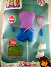 Dora the Explorer Sports Doll Clothes Dora's Explorer Collection Mint In Box