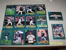 2001 Ichiro Topps rookie card with 26 card Mariners 2001 team card set/116 WIN s