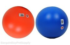 "Hueter Toledo Virtually Indestructible Dog Ball Toy 10"" Assorted Colors"