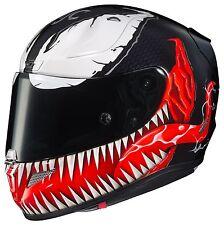 HJC Rpha 11 Venom Marvel Motorcycle Motorbike Full Face Helmet + Dark visor