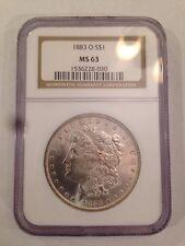 1883 O S$1 MS 63