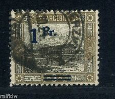 Saargebiet 1Fr./3Mark Ansichten 1921 Aufdruckfehler Michel 80 IV geprüft (S6592)