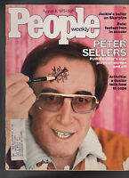People Magazine Peter Sellers Pele August 4 1975 Free S/H