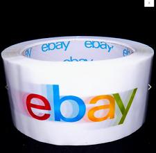 Official eBay Brand Logo Packaging Tape 3 ROLLS Packing, Box, Sealing.