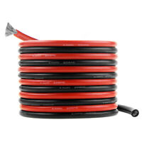 10FT 6 AWG Silicone Wire Flexible Heatproof Soft cable For RC lipo battery