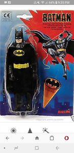 """BATMAN 1989 8"""" Mego body Figure Bikin German Foreign Tim Burton billikin bilikin"""