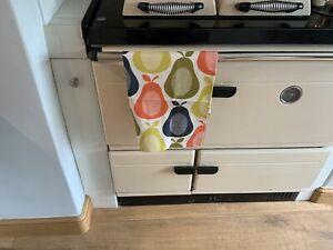 tea towel Orla Kiely Scribble Pear Fabric
