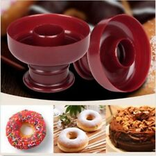 3D Mold Sugarcraft Mould Donut Maker Craft Plastic Fondant Cake Cutter TOP