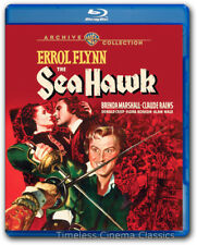 The Sea Hawk Blu ray New Errol Flynn Brenda Marshall Claude Rains