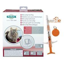 PetSafe Rfid Microchip Cat Flap/Door with Free Pro Id Buddy Iso Mini Microchip