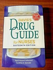 Davis's Drug Guide for Nurses 16th Edition -Incl. Unused Access Code - FREE SHIP