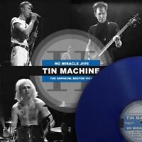 DAVID BOWIE (& Tin Machine) NO MIRACLE JIVE  ltd / 210 blue vinyl lp rare live