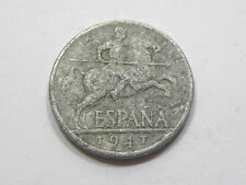 ESPAÑA: 10 CÉNTIMOS FRANCISCO FRANCO. AÑO 1941. RC+. DISCRETA Y BUSCADA. GRATIS.