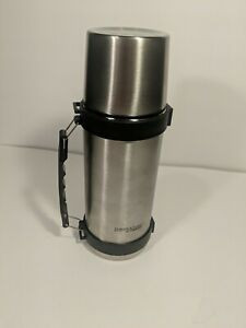 Stainless Steel Thermos DF2110 - BEVERAGE BOTTLE W/HANDLE