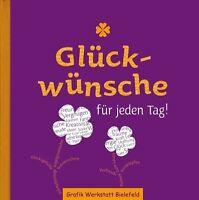 Glückwünsche für jeden Tag,  Grafik Werkstatt Bielefeld, Geschenkbuch