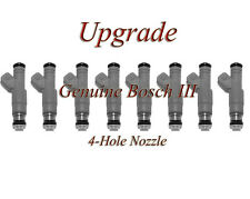 85-89 Ford 5.0 (8)  BOSCH III UPGRADE FUEL INJECTOR SET 4-HOLE NOZZLE