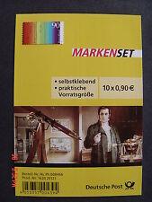 Bund * * Folienblatt FB 23 - Joseph Fraunhofer 2012 - m. 10x Mi.-Nr. 2929