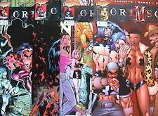 CRIMSON Heft 1 + 2 komplett + Heft 1 + 2 Variant Cover (Splitter)