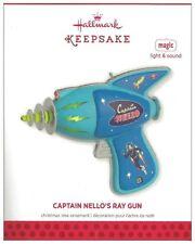 2013 Hallmark Captain Nello's Ray Gun Light & Sound Magic Ornament!