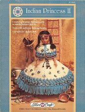 """INDIAN PRINCESS II - Crochet outfit for 15"""" doll - Fibre Craft Leaflet #FCM355"""