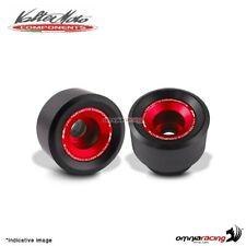 Tamponi paratelaio Valtermoto TRACK rossi + kit adattatori per Yamaha R6 2006