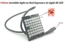 CCTV 48PCS Led  Invisible Night Vision 940nm IR Infrared Illuminator Light