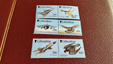 GIBRALTAR 1999 SG 883-888 Wings of Prey (1ST SÉRIE). Neuf sans charnière