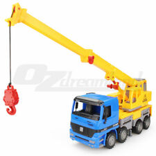 1:22 Telescopic Height Adjustable Crane Truck Construction Vehicle Toy Friction