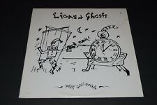 """Lions & Ghosts~Mary Goes 'Round~12"""" Single~1987 Pop Rock~FAST SHIPPING!"""
