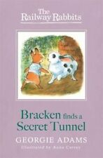 Bracken Finds a Secret Tunnel (Railway Rabbits), New, Adams, Georgie Book