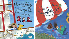 How to Make a Cherry Pie & See the U.S.A. and See the World (pb) 2 Book Set NEW