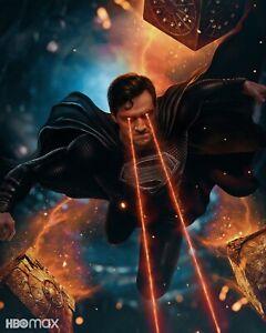 Justice League Poster DECAL 2021 Zack Snyder Movie Film rePrint Superman Batman