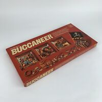 Vintage 1970,s Buccaneer Board Game Waddingtons 100% Complete Pirates & Treasure