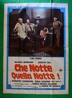 M24 Manifesto 4F Che Notte Quella Notte Turi Iron Valeria Moriconi Celi