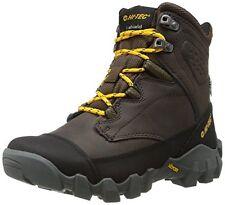 Hi-Tec Men's Boots Waterproof Valkyrie Dark Brown Boot Leather, Size 11, New