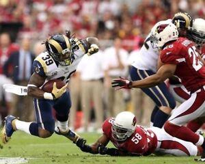 STEVEN JACKSON 8X10 PHOTO LOS ANGELES RAMS LA PICTURE NFL VS CARDINALS