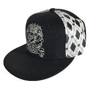Phat Farm Black Baseball Hat Cap  Fitted Cap Sz 7 3/4 Phat Classics