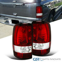 Fit 00-06 Chevy Tahoe Suburban GMC Yukon Denali Tail Lights Rear Brake Lamps Red
